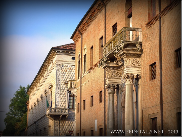 Palazzo dei Diamanti Views, photo1, Ferrara, Emilia Romagna,Italy - Property and Copyrights of FEdetails.net