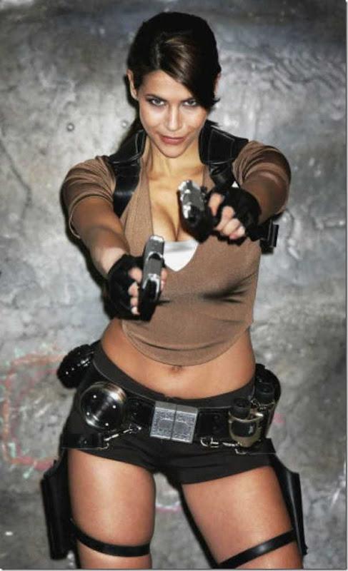 Os melhores cosplays de Lara Croft 12