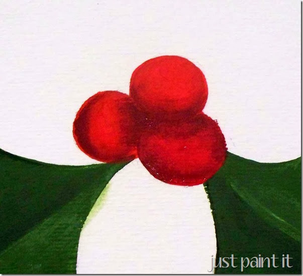 paint-holly-and-berries-H