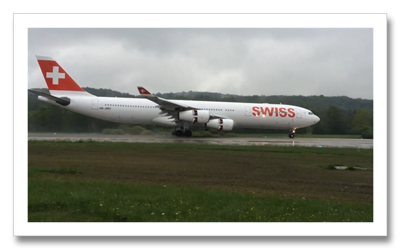 Swiss Airline A340