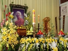 TP.HCM: Lễ tưởng niệm chung thất trai tuần cố đại lão HT. Thích Minh Châu