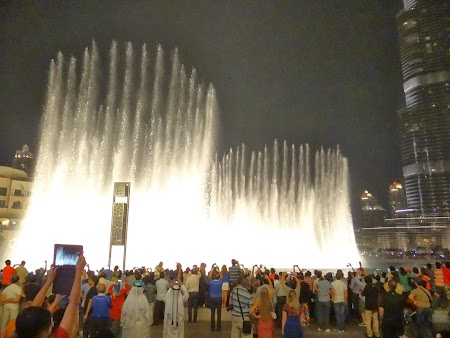 Fantani la Dubai Mall