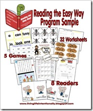 Reading the Easy Way -What's inside