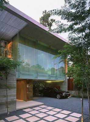 fachada-vidrio-Casa-Sunset-Vale-WOW-Architects