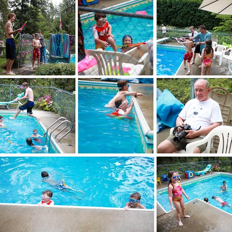 pool shenanigans