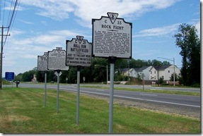 Bull Run Battlefields marker on U.S. Route 29 west of battlefield.