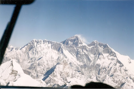 Things to do in Nepal: see Everest from the airplane