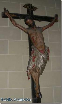 Crucificado gótico - Iglesia de San Juan Bautista