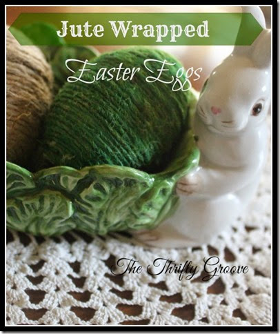 Jute Wrapped Easter Eggs 3