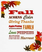Clearwater Cottage - Fall Favorites Printable