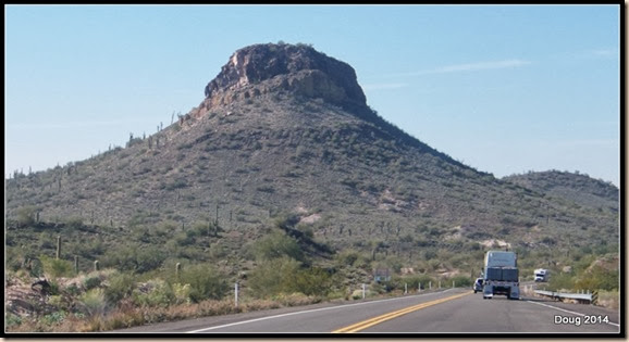 Highway 60 to Quartzsite