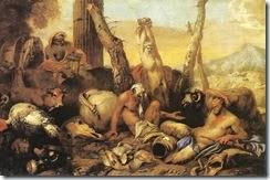 Giovanni Benedetto Castiglione--The Fable of Diogenes