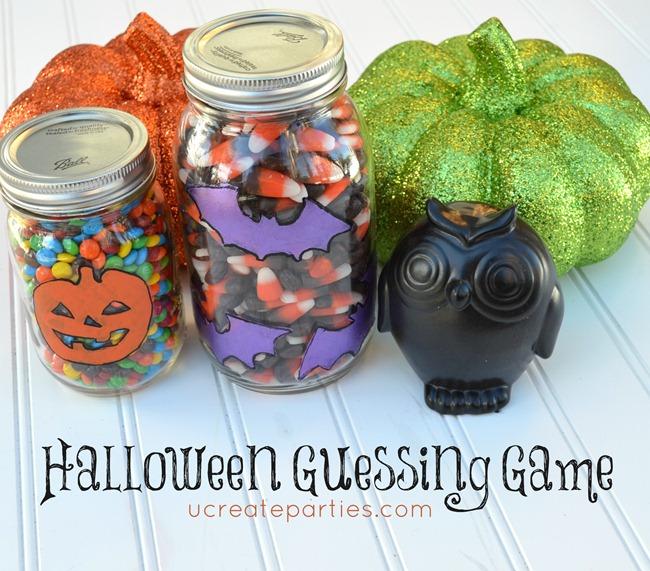 Halloween jogo de adivinhação Festa