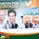 """Plenária 65"" com apoiadores do ""Carlin 65"""
