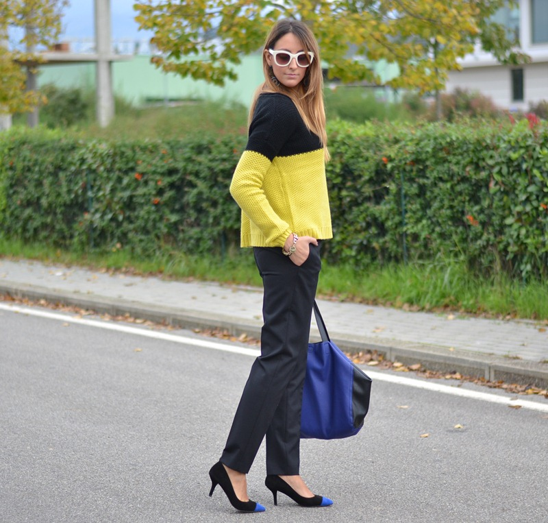 C&A, H&M Bag, Zara, Zara sunglasses, Maxi Pull, C&A Pull, Pullover, Inspiration, Streetstyle, Fashion Blogger Firenze, Italian Fashion Blogger, Best Italian Fashion Bloggers, Zara heels, Heels