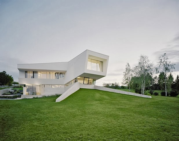 villa freundorf by project A01 architects 1