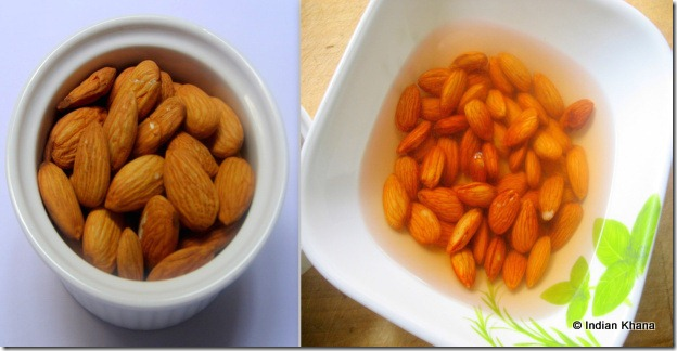 Blanched Almonds at home recipe1