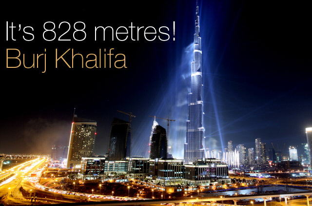 Opening ceremony pics of The world's tallest tower, 'Burj Khalifa'(Dubai) is 828 metres (2,716.5 ft) high