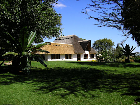 Safari travel: A Ngorongoro lodge