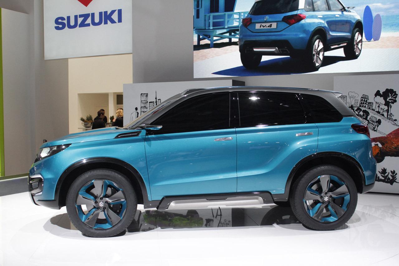 Suzuki iV-4 konsept kompakt SUV'un üretim versiyonu 2015 ...