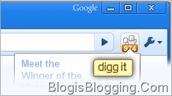 Digg Extension Google Chrome