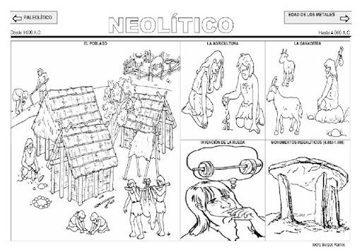 dibujos de la edad de los metales para colorear