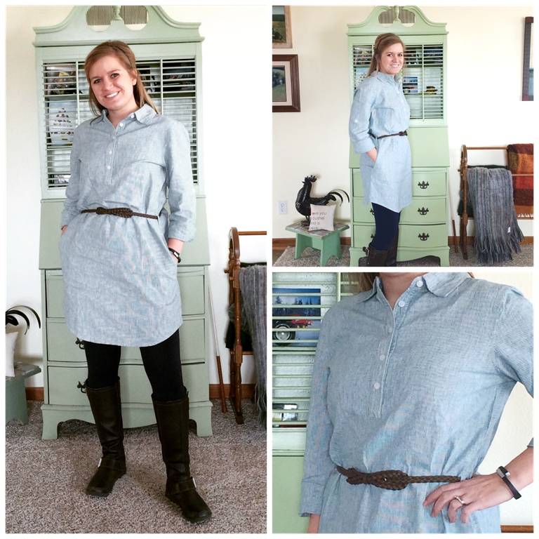 shirt dress Collage