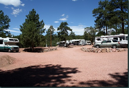 To Colorado, RV park and tow truck 033