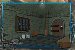 Screenshot of Weapons Room Escape
