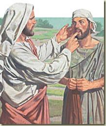 Jesus heals deaf man - 01