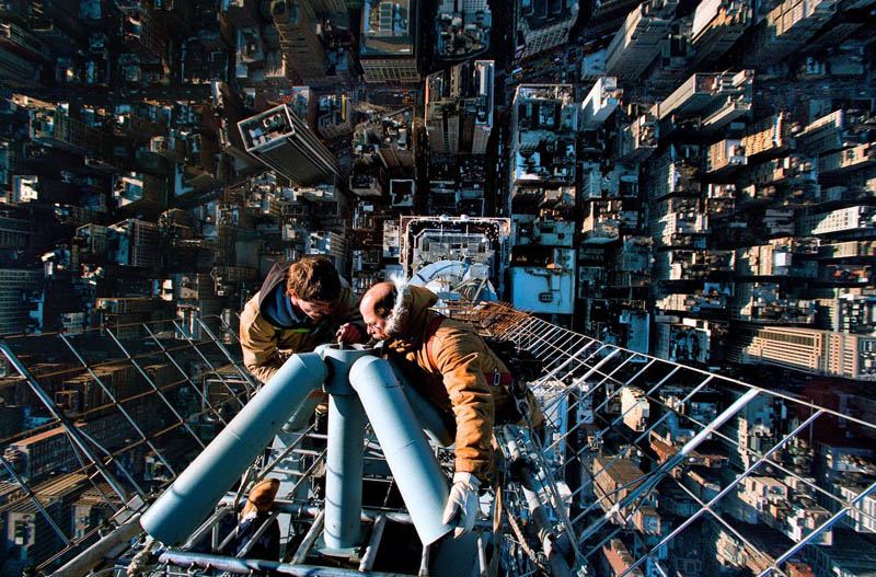 Fixing antenna empire state building instant vertigo