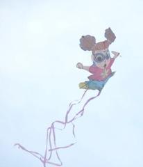 Dora the Explorer Cape Cod kite