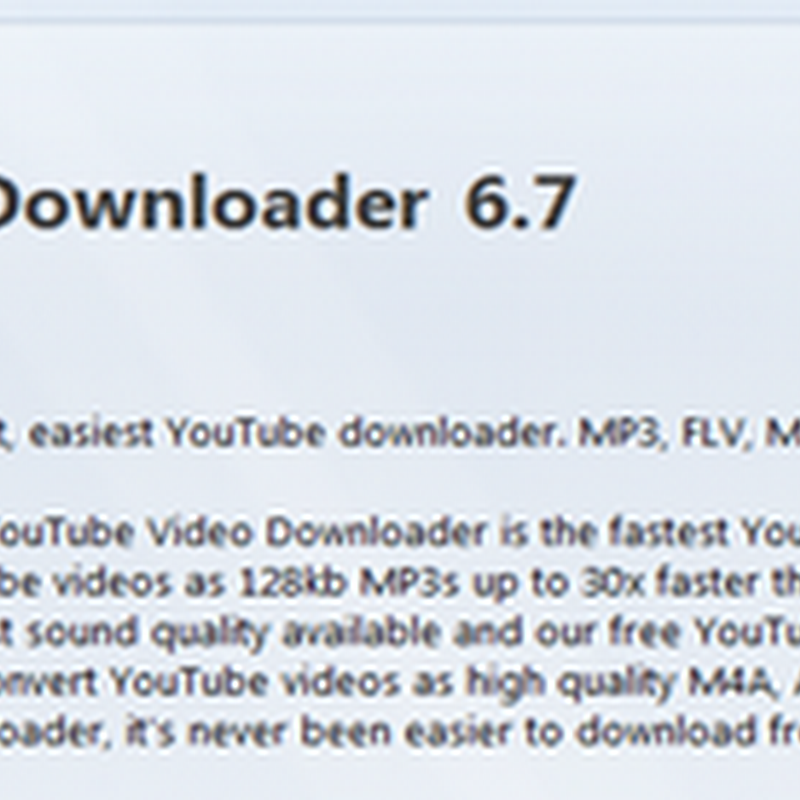 การดาวน์โหลดวีดีโอจาก Youtube เป็น MP3, M4A, MPEG, FLV และ HD
