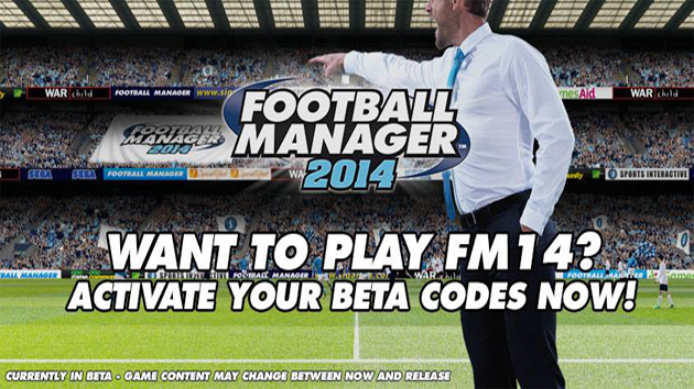 Football Manager 2014 BETA