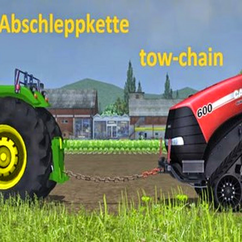 Farming simulator 2015 - Towing chain v 4.0 Beta