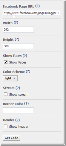 Facebook_Like_Box_Setting