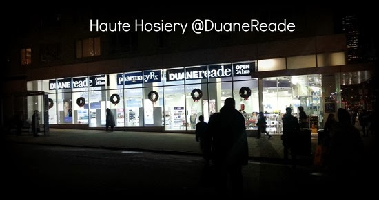 Haute Hosiery @DuaneReade #shop