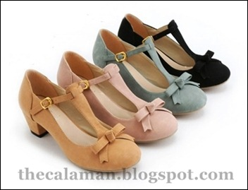 N136- Black ,Pink,Khakis ,LightGreen – RM 47, Size 34 – 43, Material artificial leather,PU, height 5.5cm