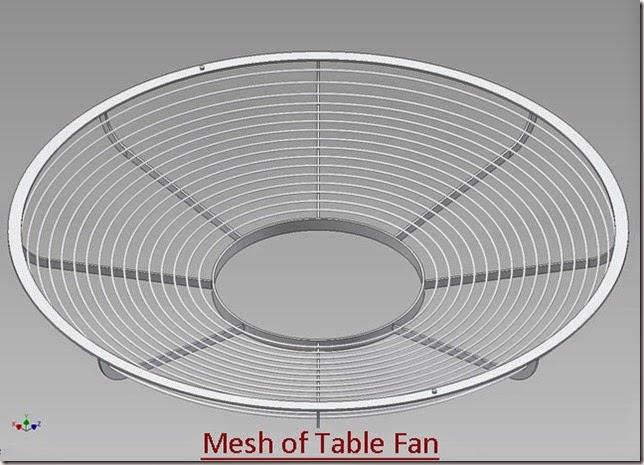 Mesh of Table Fan_2