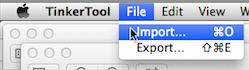 File Import and Export Menu 12 15 2013
