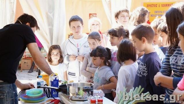 Live Μαγειρική με Μετσοβίτικα προϊόντα στο φεστιβάλ Γευσιγνωσίας.
