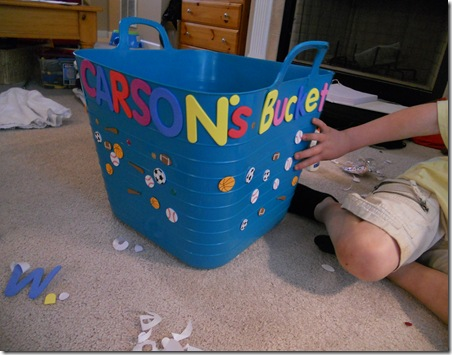 carson's bucket