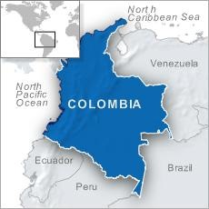 Colombia Curious Map