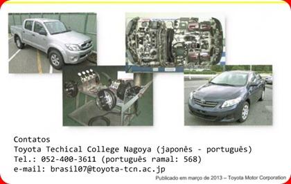 Curso de mecânica automobilística da Toyota