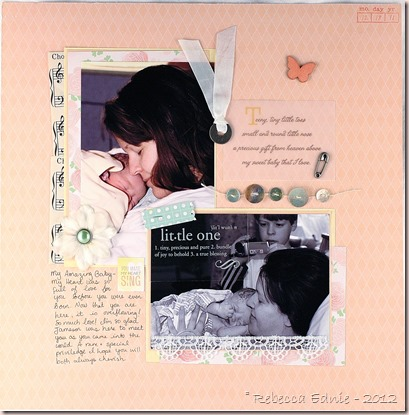 teddy newborn layout right side