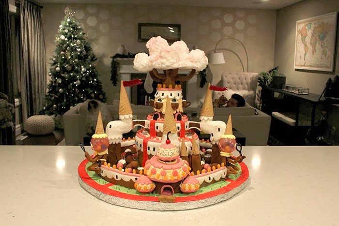 Gingerbread Candy Kingdom by IHaveAFluffyCat on Imgur