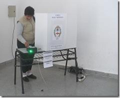 Por primera vez se implementó el voto electrónico en mesas de extranjeros