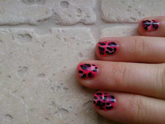 Leopard print animal nail art tutorial how to video youtube