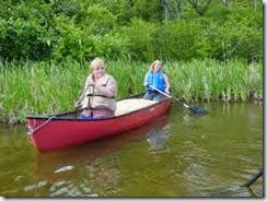 monty canoeing