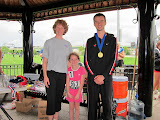 First place 10K medal went to Ben Thorne (CAN).